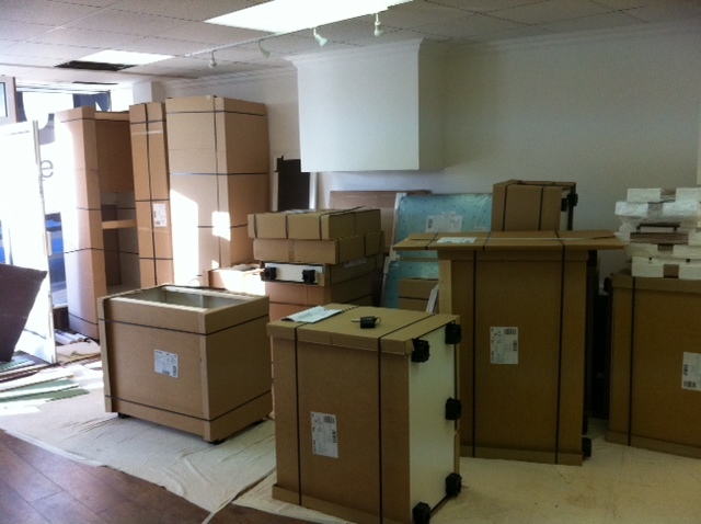 factory assembled kitchen cabinets