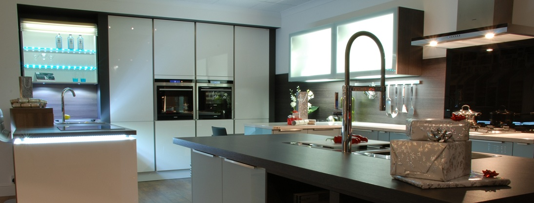 Black Rok Kitchen Showroom Uckfield East Sussex