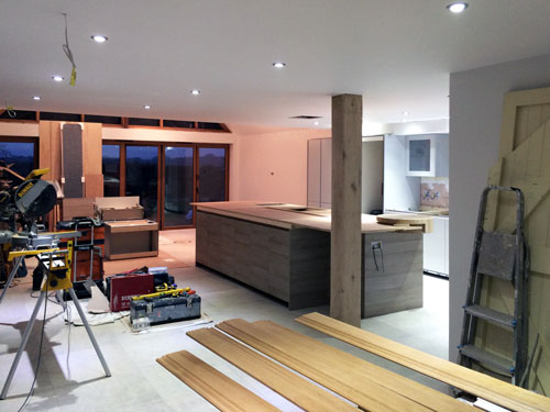 Kitchen Island without worktop