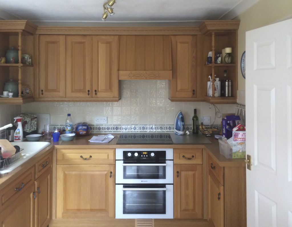 crawley down kitchen before replacement