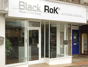 Black Rok Kitchens Uckfield Showroom