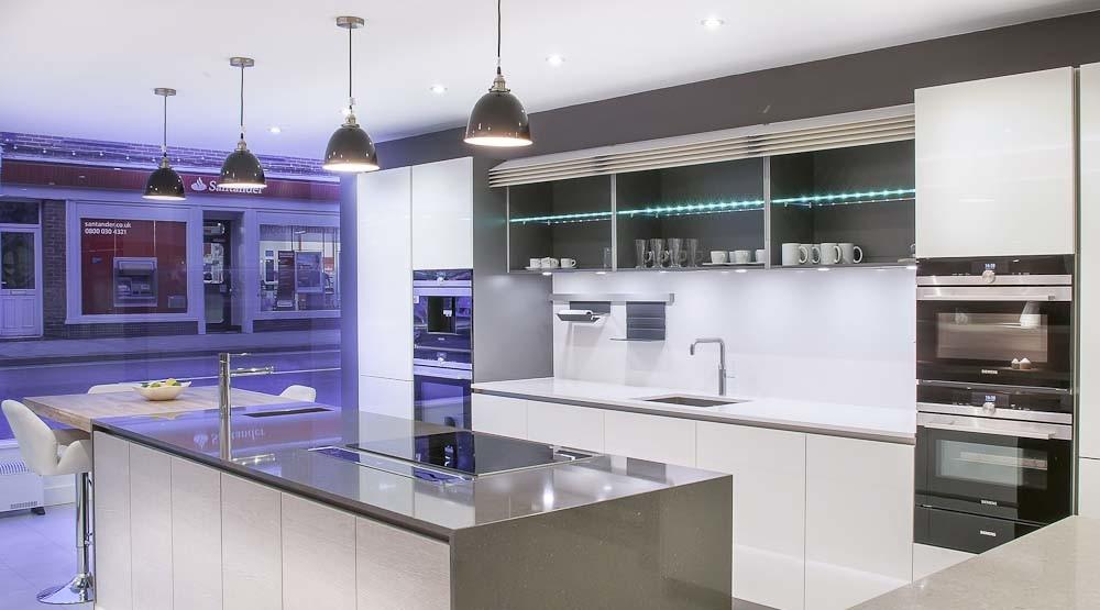 Heathfield Kitchen Showroom Gallery Black Rok Kitchen Design Uckfield And Heathfield Sussex