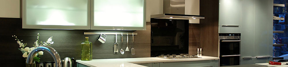 Black Rok kitchen showroom Uckfield