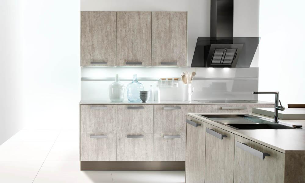 Concrete kitchen style for Kitchen design uckfield