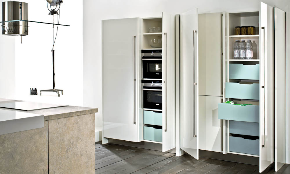 4080 tessina 4030 weiss pocketdoors offen d black rok for Kitchen design uckfield