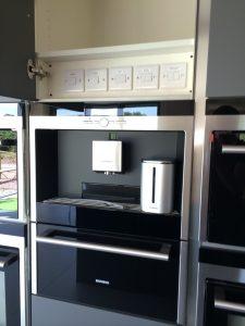 siemens built in coffee machine