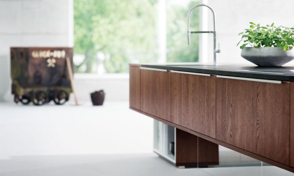 Modern oak kitchen for Kitchen design uckfield