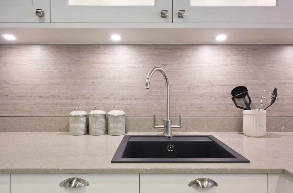 sink and tap shaker kitchen