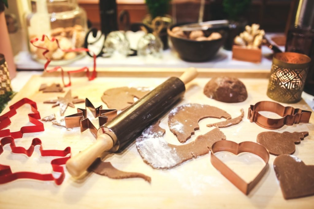 Calming Christmas kitchen chaos