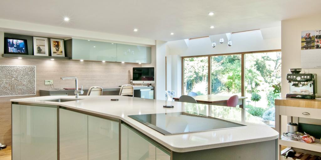 Edenbridge Blue Kitchen 3