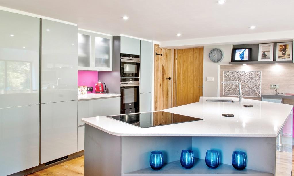 Edenbridge Blue Kitchen 4