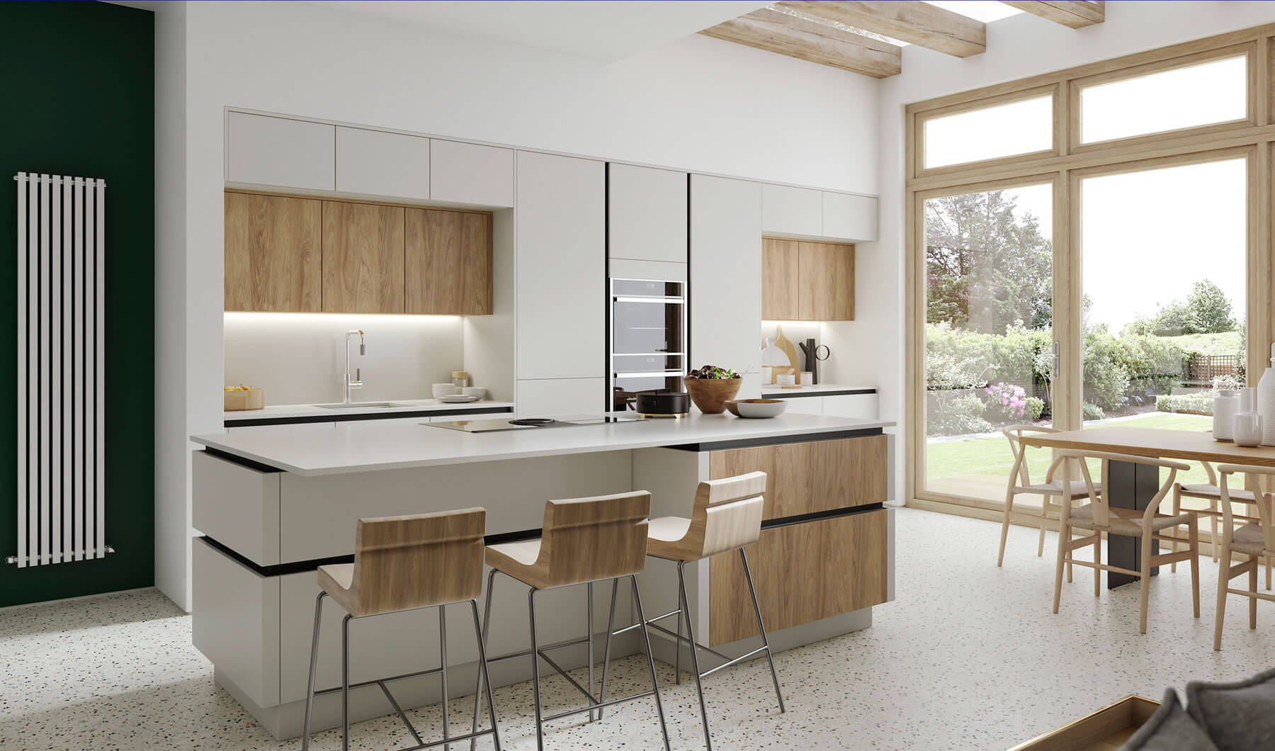 Kitchen Designs: Black Rok Kitchen Designers East Sussex Showroom