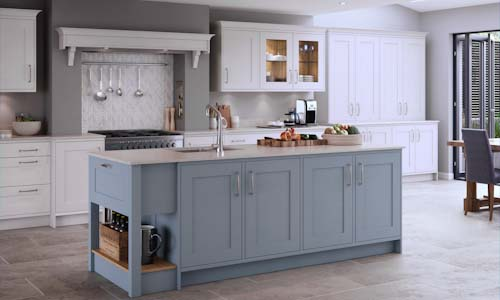 marlborough coastal mist traditional kitchen