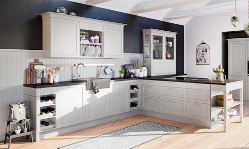 German Shaker Kitchen Style
